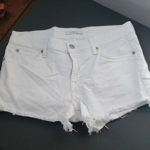 7 for all Mankind Jean shorts 27